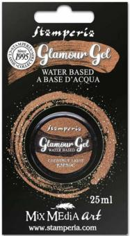 Stamperia Glitter Gel Chestnut Light