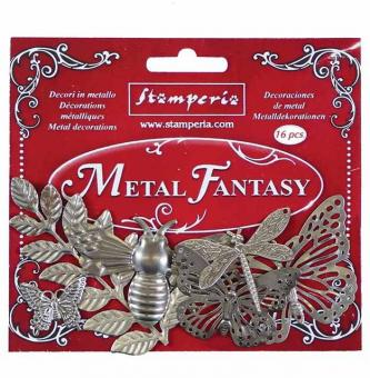 Stamperia Metal Fantasy Embellishments Nature