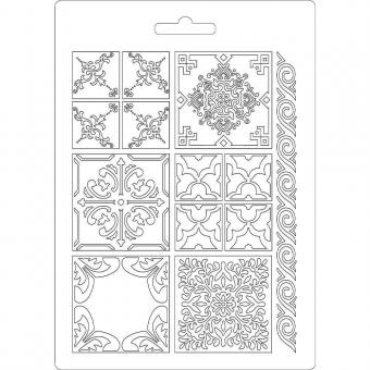 Stamperia Soft Mould A5 Azulejos