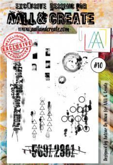 AALL and Create - Stamp Set 10
