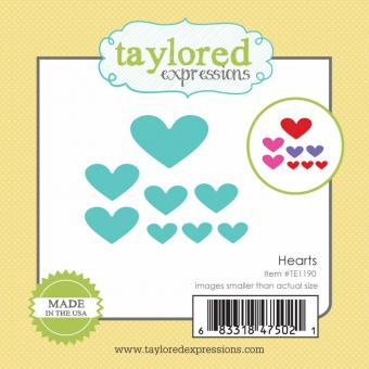 Taylored Expressions Little Bits - Hearts