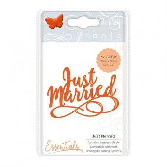 Tonic Studios Die miniature moments - just married