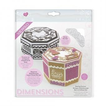 Tonic Studios Die Sewing Forever Octagon Kaleidoscope Box