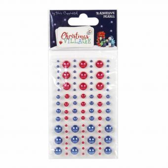 Trimcraft Christmas Village Adhesive Pearls