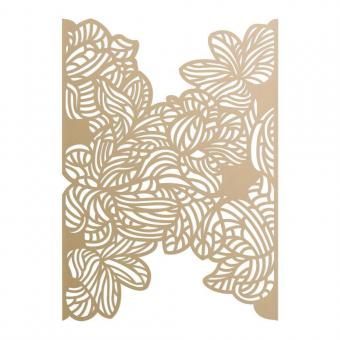 Ultimate Crafts Flocking Florals Background Die