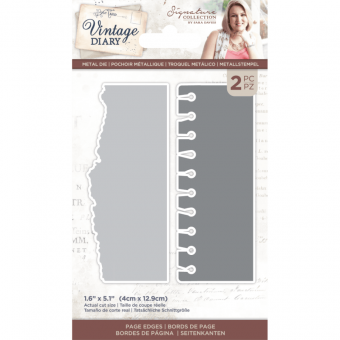 Vintage Diary - Page Edges