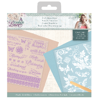 Sara Signature Collection Vintage Lace - Rub Ons