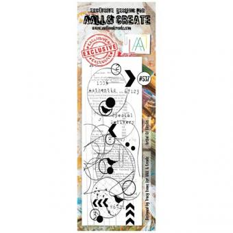 AALL and Create - Border Stamp #537